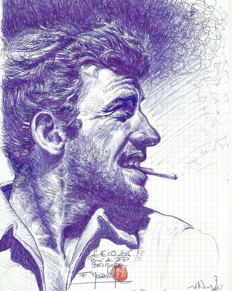Jean-Paul Belmondo by ricou62